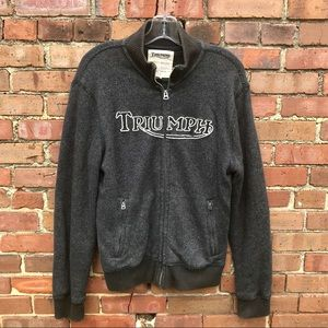 b22f3fd8253 Lucky Brand Jackets   Coats - Men s Lucky Brand Triumph Knit embroidered  Jacket